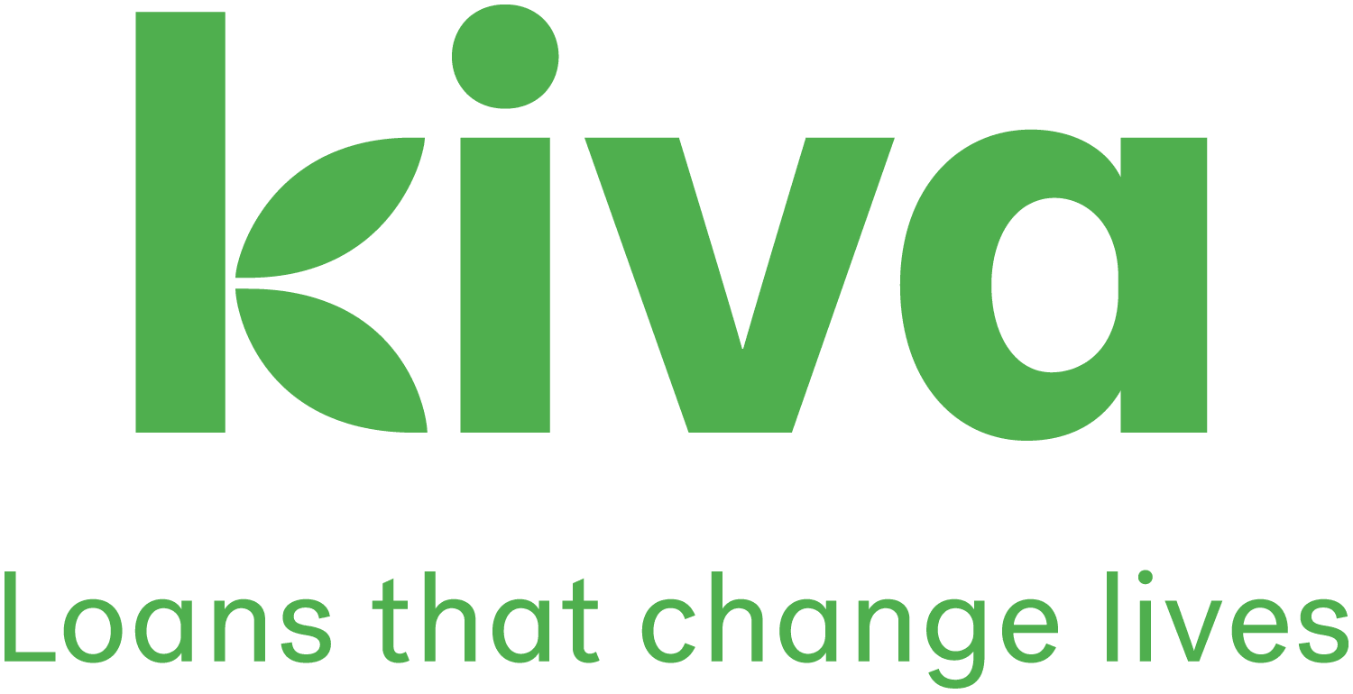 kiva logo - loans that change lives