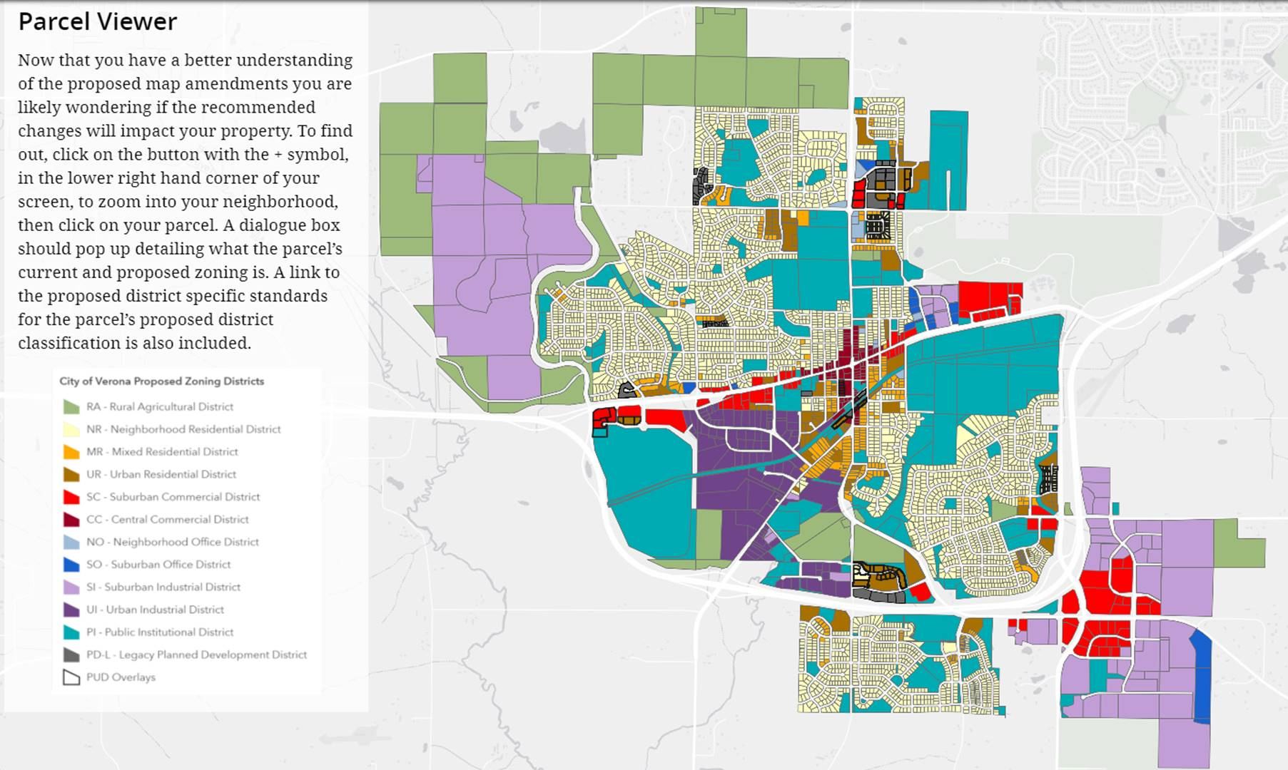 Proposed Zoning Map March 2021 Opens in new window
